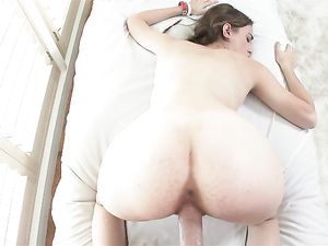 Cocksucking Cutie With Braided Pigtails Wants To Fuck