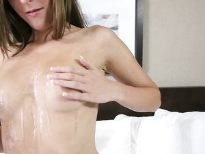 Flawless Tits Teen Fucked POV In Her First Scene