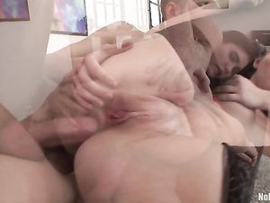 Spread Cheeks Teen Ass Fucked By His Big Dick