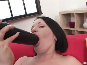 Double Anal Slut Is All About Getting Stretched Out