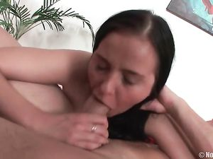 Super Curvy 18 Year Old Riding Cock With Her Holes