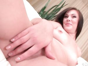Pink Teen Cunt Teased In Close Up Before Fucking