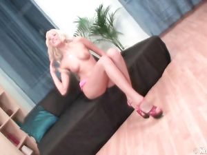 Teen Glamour Whore Fucked By Toys And A Cock