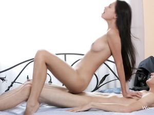 Long Legged Teenage Babe Fucking Her Boyfriend