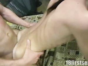 His Tight Teenage Girlfriend Loves Hardcore Fucking