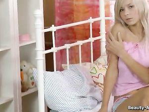 Softcore Teen Tease Finally Shows Us Her Pussy