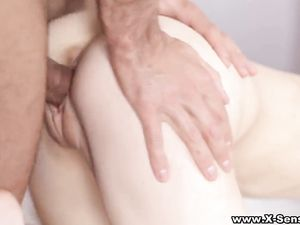Teens Suck And Fuck The Guy Until He Cums Hard