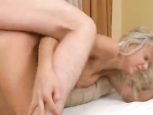 Hot Blonde Cocksucker Takes His Stiffness In Her Cunt