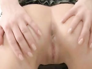 Cute Heels And A Slutty Skirt On The Hardcore Teen