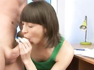 Pierced Teen Tongue Licks His Cock And Balls