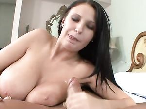 Fucking Big Natural Titties And A Tight Pussy