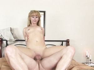 Cute Sexbot Follows His Commands And Fucks Like A Slut