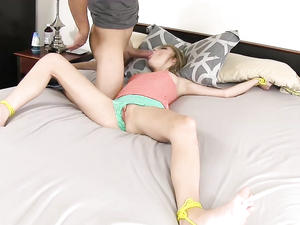 Dakota Skye Tied To His Bed For Great Hardcore Sex