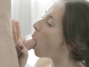 Youthful Beauty Meditates On The Pleasure Of Cock