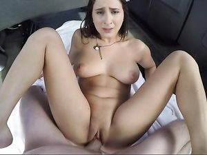 Picked Up And Fucked By A Big Dick In A Van