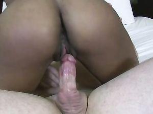 Interracial Fucking With Hot Ebony Darling