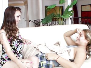 Sixty Nine With Wonderful Young Lesbians