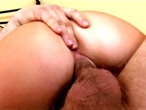 Russian Brunette Teen Riding Her Boyfriend's Cock